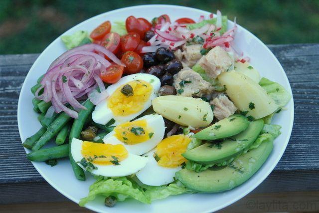 Salad Nicoise | Candida Cleanse | Pinterest