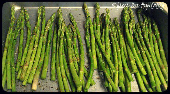Simple Roasted Asparagus - was very good! - LRM