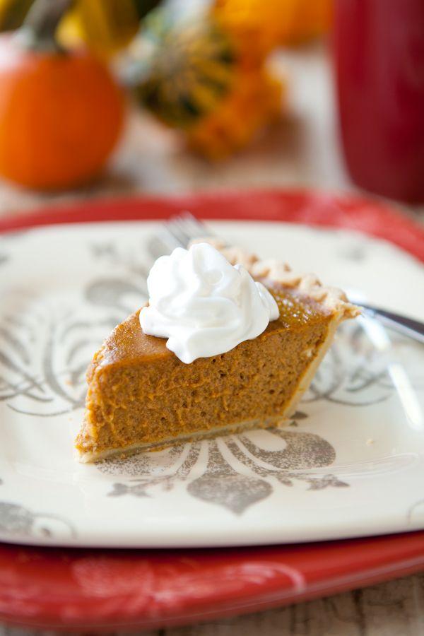 Healthier Pumpkin Pie from Eclectic Recipes. http://punchfork.com ...