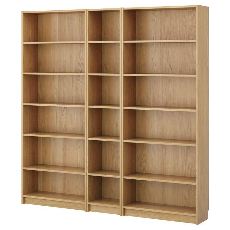 Ikea billy bookcase doors oak interessante for Ikea blue billy bookcase