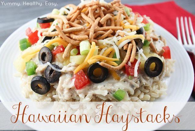 Hawaiian Haystacks (aka Chicken Sundaes) | Recipe