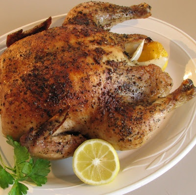 Lemon and basil slow roasted chicken | Recipes: What's for Dinner? (P ...