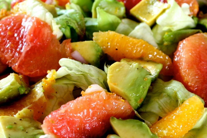 AVOCADO + CITRUS SALAD | Salad Recipes | Pinterest