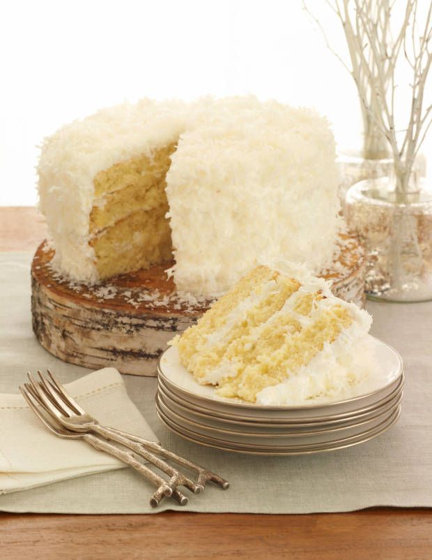 Coconut Cloud Cake | sweet | Pinterest