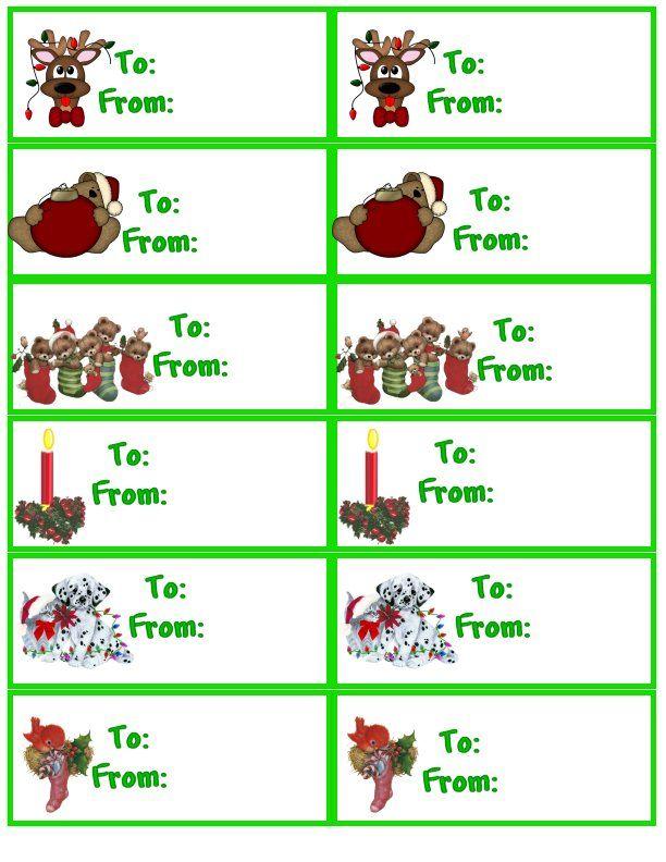 Christmas gift tags tags xmas pinterest for Christmas tags on pinterest