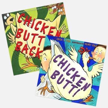 Chicken Butt! by Erica S. Perl (2009, Hardcover)