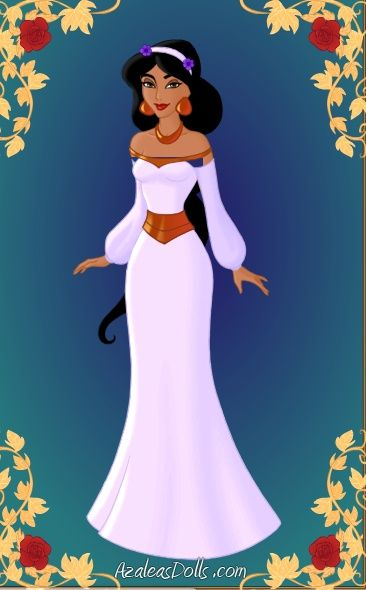 Jasmine wedding dress disney princess wedding dress for Princess jasmine wedding dress