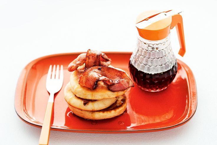 Puftaloons with maple syrup and bacon | Pancakes, Scones & Muffins ...