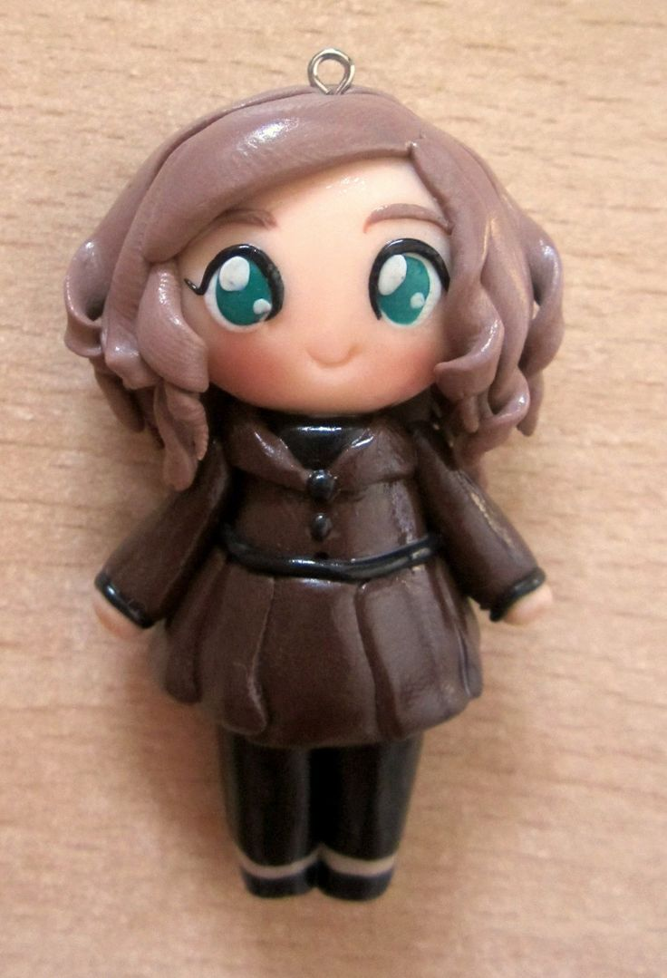 Kate Beckett clay doll by annie-88.deviantart.com on @deviantART