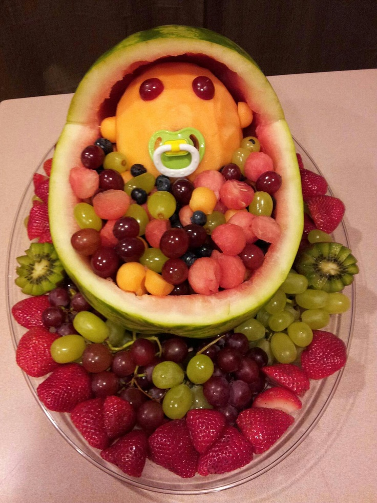 baby shower fruit bowl favorite recipes pinterest