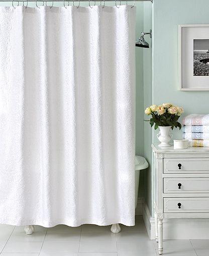 ... Matelasse Shower Curtain - Bathroom Accessories - Bed & Bath - Macy's