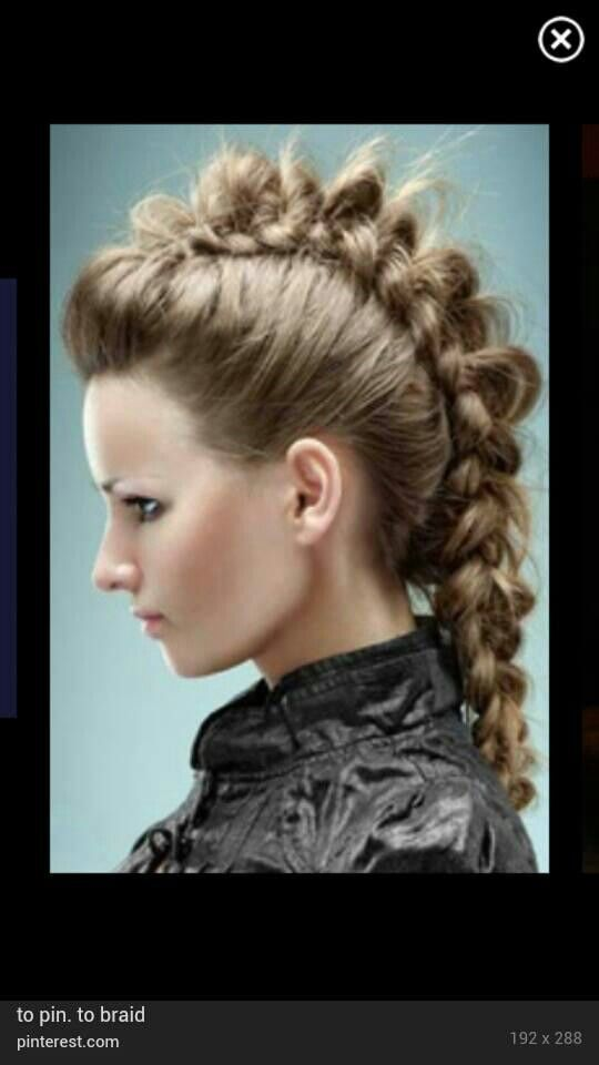 Image Of A Braid Hairstyle | Short Hairstyle 2013
