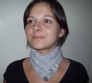Cats-Rockin-Crochet Fibre Artist.: Crochet Cable Stitch Neck warmer