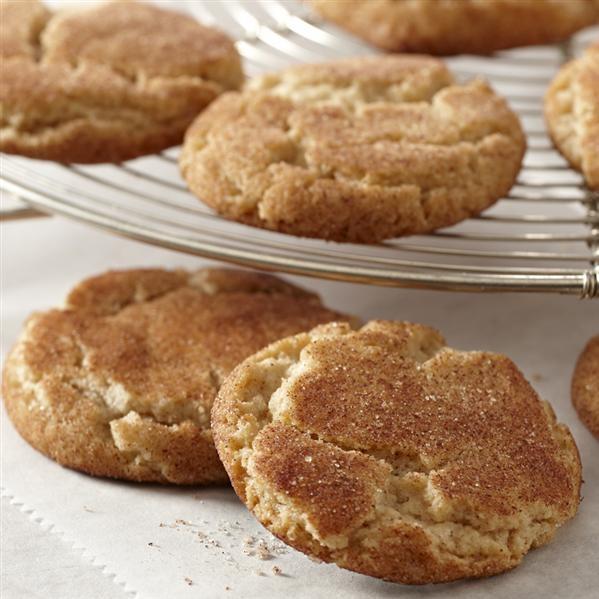 double cinnamon sugar cookies   cookies/biscotti   Pinterest