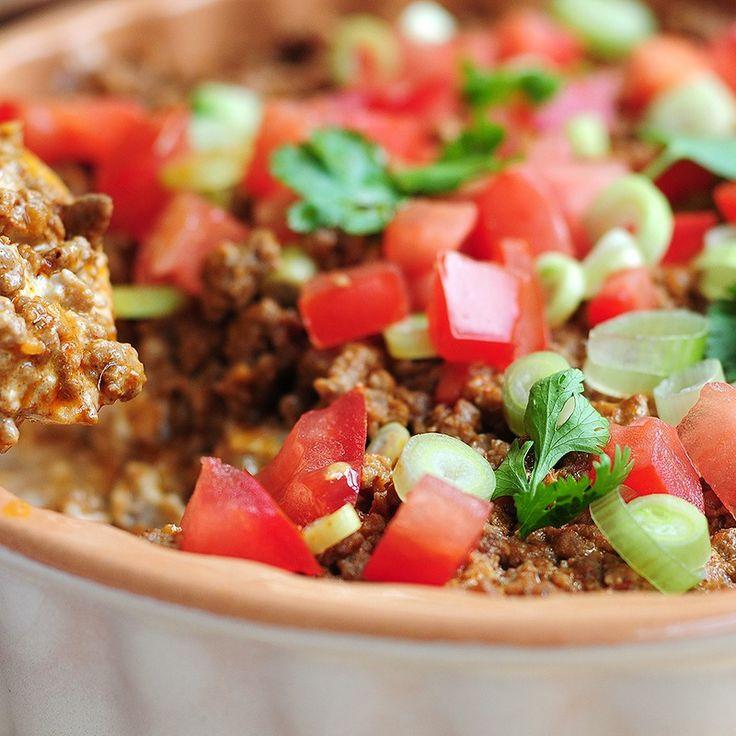 Easy Cheesy Taco Dip | Recipe