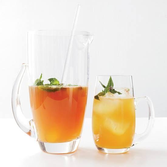 Apricot ale + bourbon + mint = a great summer cocktail. http://fandw ...