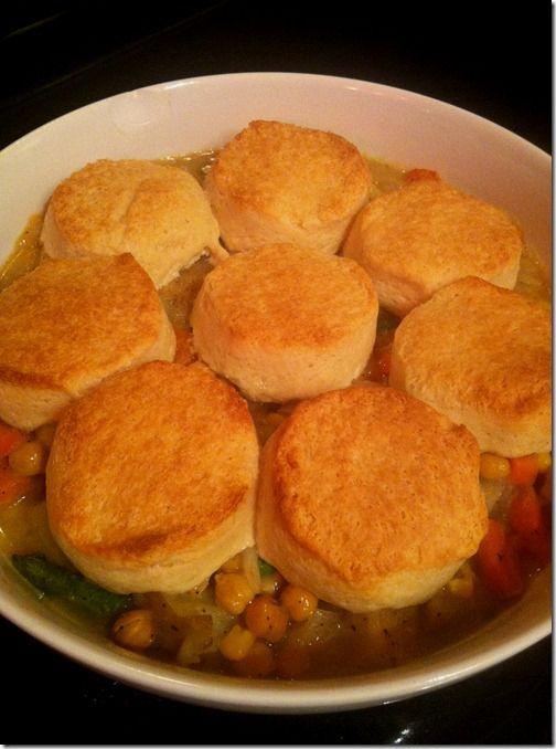Chickpea Pot Pie | Dinner | Pinterest