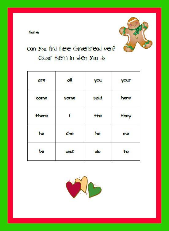 Jolly Phonics 20 tricky words. | Kindergarten Literacy | Pinterest