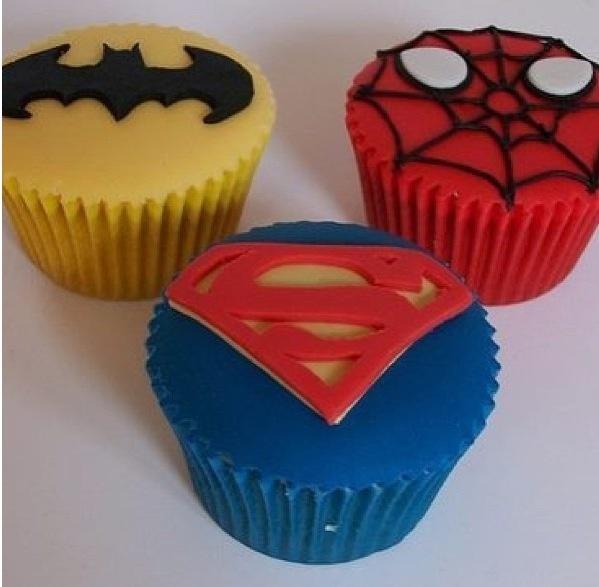 Super Hero #cupcakes