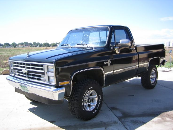 El Camino Monster Truck >> 1973 1987 Chevy 4x4 For Sale | Autos Post