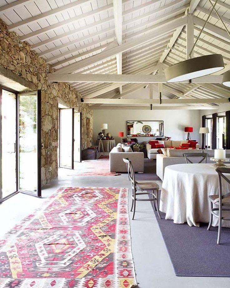 Bohemian Interior Design On Bohemian Interior Design Rustic Style
