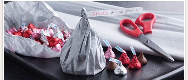 valentine's day hershey kisses sayings