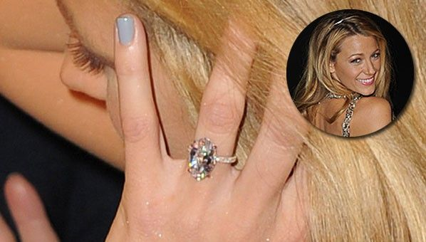 Blake Lively Engagement Ring | When Two Become One Blake Lively Ring