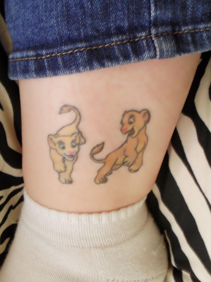 Lion King Tattoo Designs