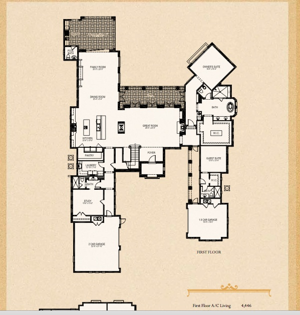 golden oak disney floor plan for the home pinterest