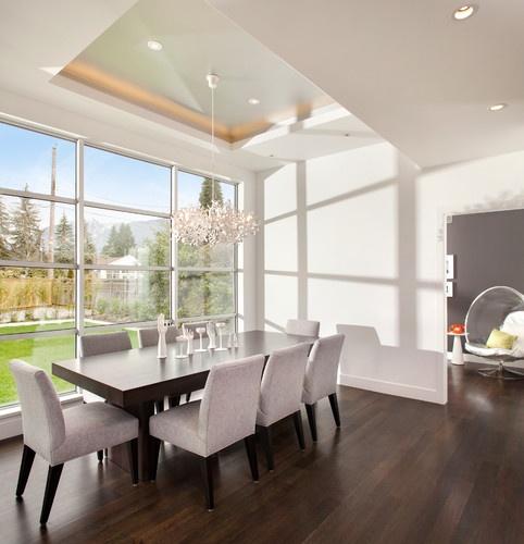Dining room modern dining room interior design pinterest for Modern dining room ideas pinterest