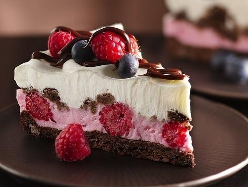 Chocolate and Berries Yogurt Dessert | Recipe