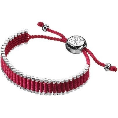 Links of London Pink Friendship Bracelet 5010.1349 | Cheeky Wish List | Wedding and Birthday Gift Ideas for Men and Women