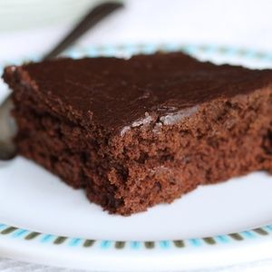 These allergen-free brownies are moist and cakey and best of all, aren ...