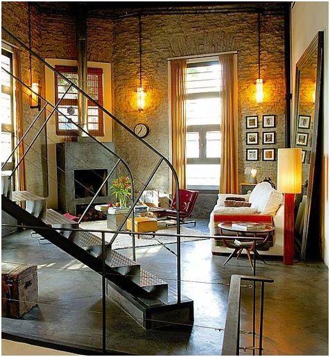 industrial living room design studio 3 0 pinterest