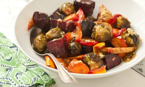 Roasted Vegetables with Miso Sauce | Recipe