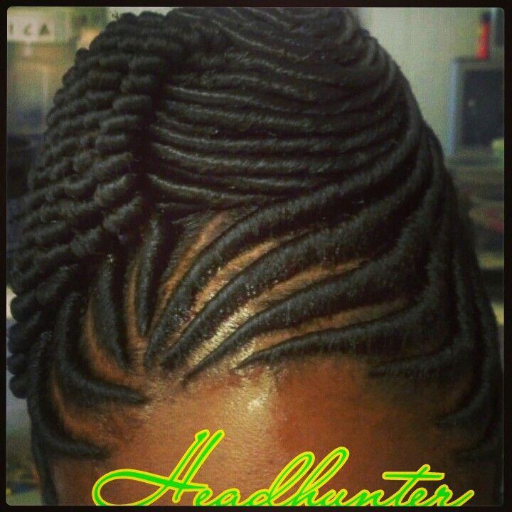 Stuffed Twist Updo Hairstyles