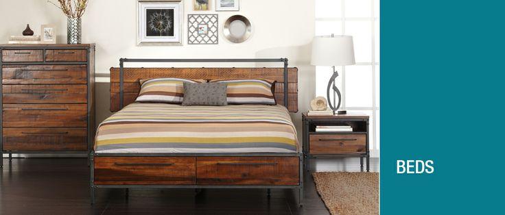 Scandinavian designs beds small bedroom office pinterest