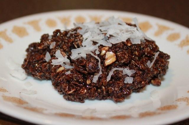 "Dark Chocolate No Bake Cookies: Finally a healthier ""makeover"" vers..."