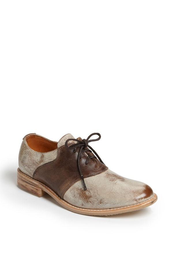Wide Width Mens Saddle Shoes