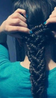 This braided hairstyle is amazing Fun smart hairstyles for fat women for