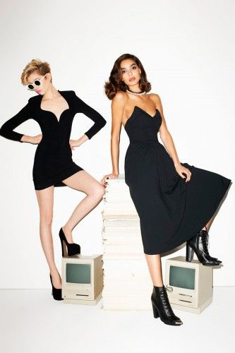 Nasty Gal's first in-house line, shot by Terry Richardson