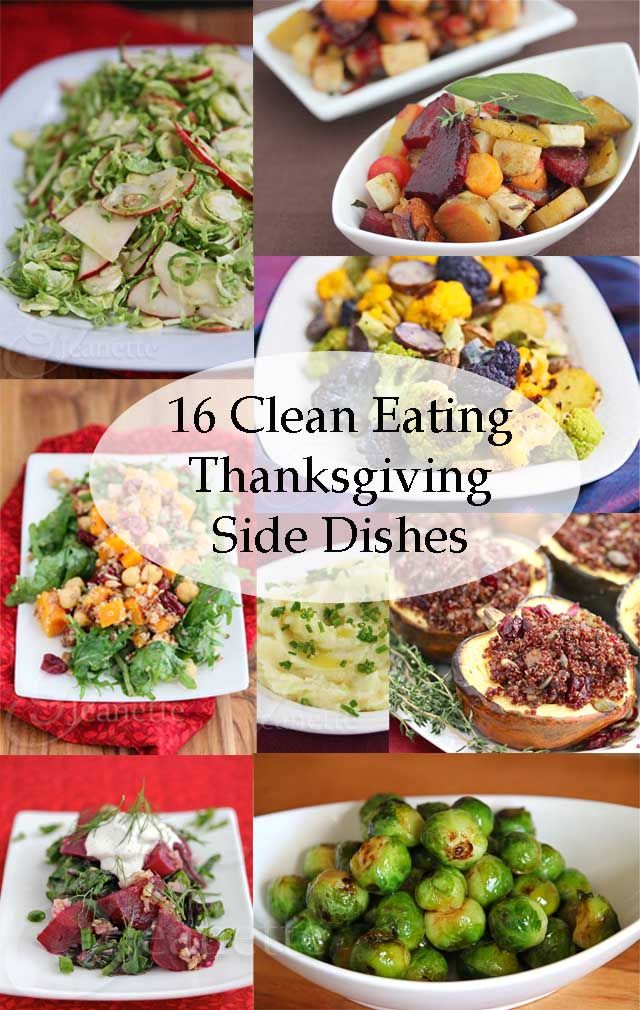 16 Clean Eating Thanksgiving Side Dish Recipes - Jeanette's Healthy Living