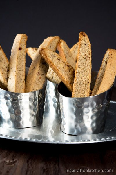 Cinnamon Pecan & Hazelnut Biscotti | Foods to try | Pinterest