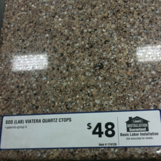 Countertop Lowes : Lowes quartz countertop Interior Pinterest