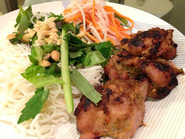 grilled lemongrass chicken vermicelli