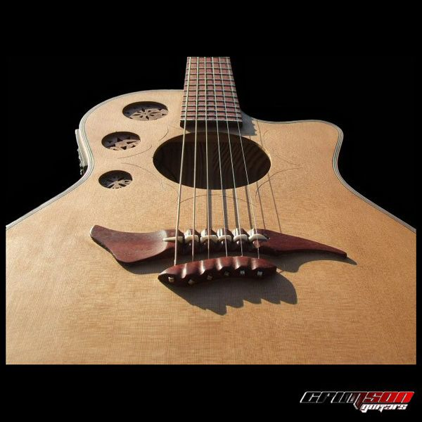 Pin by andrea coens on project inspiration pinterest for Acoustic guitar decoration
