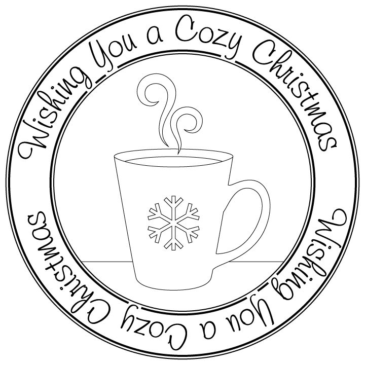 cozy christmas mug  Pattern  Pinterest