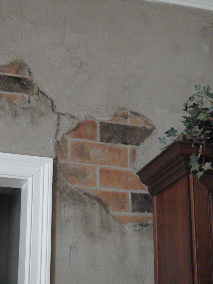 Faux Finishes Plaster And Brick Faux Finishes Pinterest