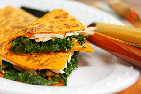 Turkey, Kale and Cheese Quesadillas | Family Mealtime Ideas | Pintere ...