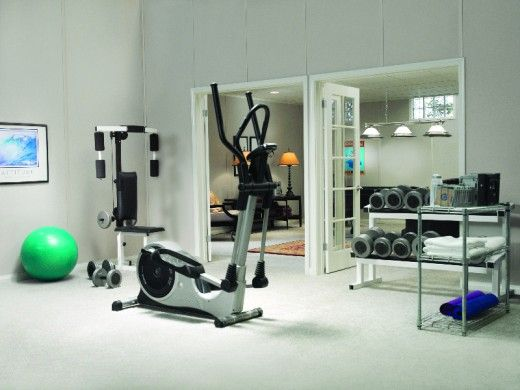 Home Workout Room Design Ideas Gym Pinterest